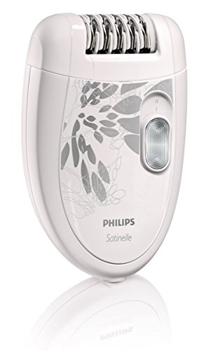 Philips HP6401 Satinelle Epilator, White/Gray (Shaving Machine For Women compare prices)
