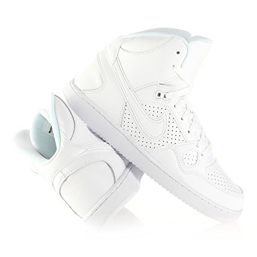 Nike 616281 102 Son Of Force Mid Herren Sportschuhe - Basketball Mehrfarbig (White/Black) 42.5