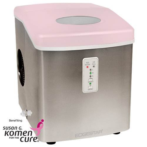 Oster Countertop Ice Maker : EdgeStar Portable Pink Ice Maker Benefiting Susan G. Komen for the ...