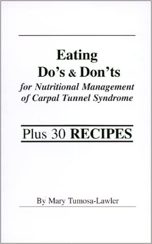 Eating Do's & Don'ts for Nutritional Management of Carpal Tunnel Syndrome