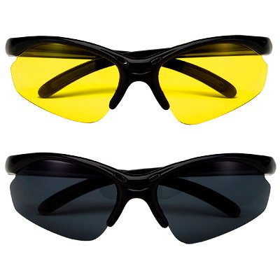 Polycarbonate Lens Sunglasses (Smoke)