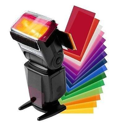 Theera - 12 Color Flash Diffuser Kit for CANON SPEEDLITE 600EX 580EX II 430EX 320EX 270EX YRS 0263 (Speedlite 270ex Ii Flash compare prices)