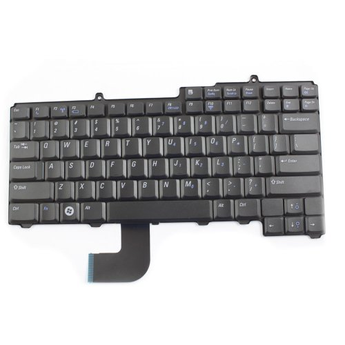 Laptop Replacement Keyboard For Dell Latitude D520 D530 Series Black