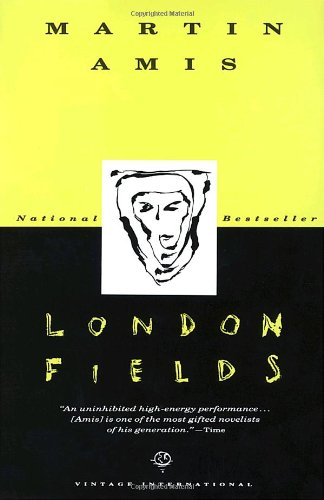 Book cover to 'London Fields'
