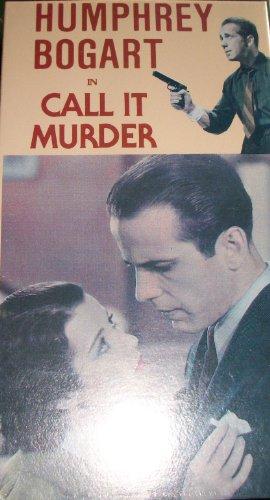 Call It Murder: Vhs With Humphrey Bogart, 1934