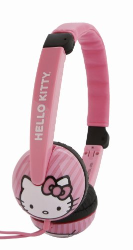 Hello Kitty Kid Safe Headphones - Pink (HK-19709)