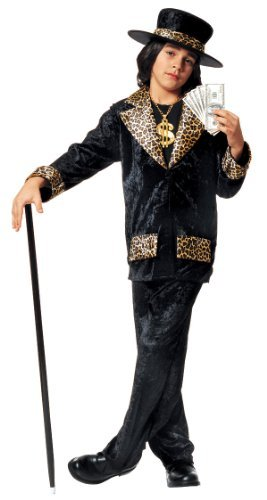 [Kids Mac Daddy Pimp Costume - Child Small by Franco] (Pimp Costume For Kids)