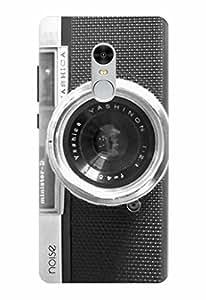 Noise Designer Printed Case / Cover for Xiaomi Redmi Note 4 / Patterns & Ethnic / Black Vintage Camera Design