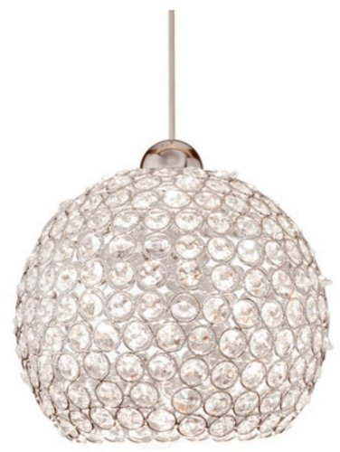 Wac Lighting Mpled335Clch Roxy Ledme Quick Connect Monopoint Pendant In Chrome