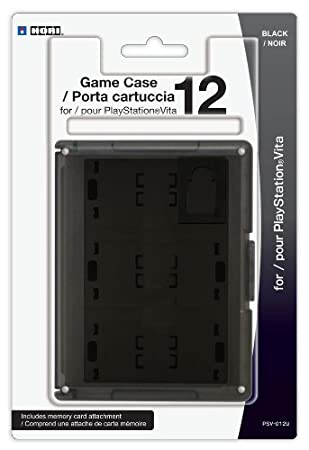PS Vita Game Case 12 - Black