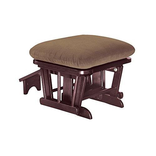 Shermag Home Indoor Wooden Furniture Ottoman With Nursing Foot Rest Coffee