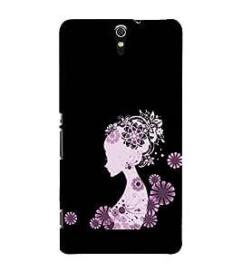 Girl Clipart 3D Hard Polycarbonate Designer Back Case Cover for Sony Xperia C5 Ultra Dual :: Sony Xperia C5 E5533 E5563