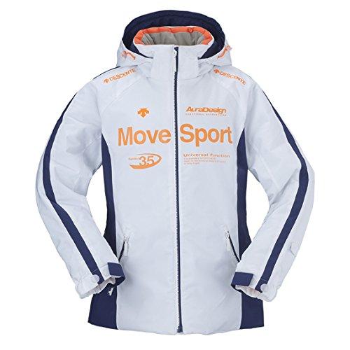 DESCENTE(デサント)【DRA-4280W】スキーウェア ジャケット レディース MoveSport ホワイトWhite(ホワイト) L