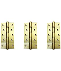 DOLPHIN BRASS BALL BEARING HINGES 6 INCH- SET OF 3