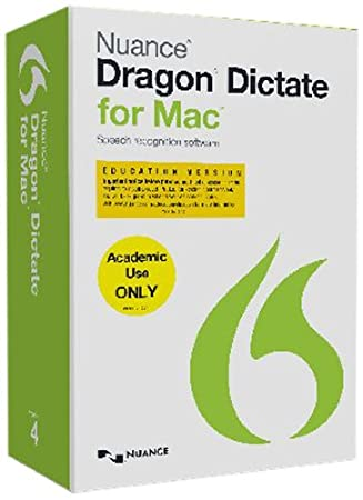 Dragon Dictate for Mac 4.0, Student/Teacher Edition