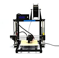 [ Arrival]HICTOP Auto Leveling Desktop 3D Printer Prusa I3 DIY Kit High Accuracy CNC Self-assembly 270*210*200 mm Printing Size【Filament Not included】 from HIC Technology