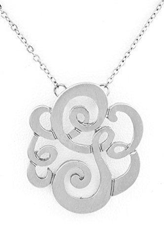 Trendy Fashion Jewelry Initials Pendant Necklace By Fashion Destination | (G)