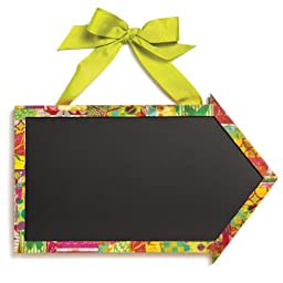 Demdaco Colorful Devotions Arrow Chalkboard Sign