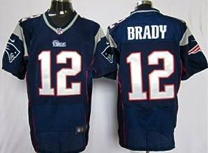 Tom Brady New England Patriots Blue Jersey 48 XL by Field