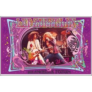 .com: Led Zeppelin - Concert Promo Poster: Prints: Posters & Prints