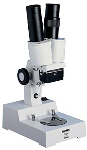 Konus OPAL 20x Stereoscopical Stereo Microscope, American Plug, 5458 20x monocular stereo microscope with 20x up right image small size 2x objective and wf10x eyepiece