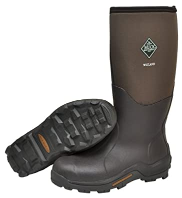 Men's Muck Boots Wetland Premium Field Boots, TAN/BARK, 9M