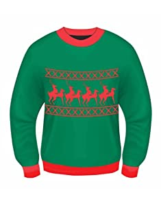 Reindeer Games Adult Sweater   from Forum Novelties