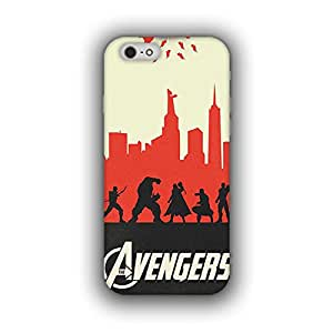 Caseque (Pro) Marvel - The Avengers Back Cover For Apple iPhone 6