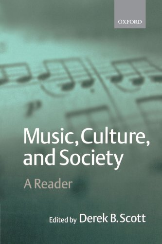 Music, Culture, and Society: A Reader