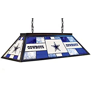 Imperial Officially Licensed Nfl Stained Glass Billiard Pool Table Light Dallas