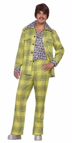 Costumes For All Occasions Fm64067 Leisure Suit 70S Plaid