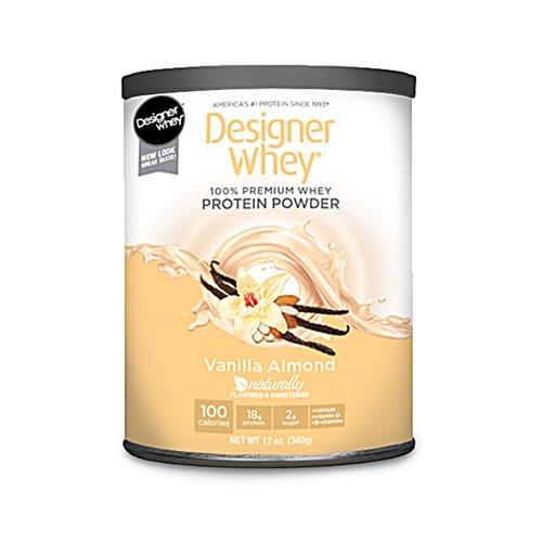 Designer Whey - Designer Whey Protein Powder Vanilla Almond - 12 Oz