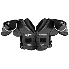 Rawlings Combat QBL Football Shoulder Pad by Rawlings