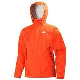 Helly Hansen Men\'s Loke Jacket, Magma, Large