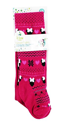Disney Minnie Mouse Pink Fashion Tights Infant Sizes [5011]
