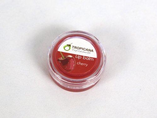 Virgin Coconut Oil Lip Balm coconut oil -Smell Cherry (Village Press Olive Oil compare prices)