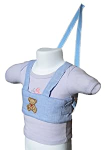 Baby / Toddler Walking Harness (Blue with Teddy Bear)