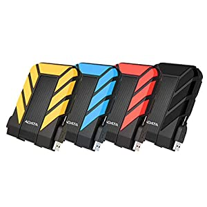 ADATA HD710 Pro 5TB USB 3.1 IP68 Waterproof/Shockproof/Dustproof Ruggedized External Hard Drive, Black (AHD710P-5TU31-CBK) (Color: black)