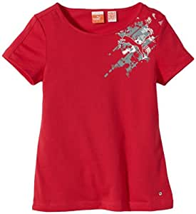 Puma Move T-Shirt fille Virtual Pink FR : 8 ans (Taille Fabricant : 128)