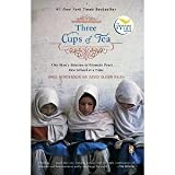 img - for Three Cups of Tea: One Man's Mission to Promote Peace...One School at a Time book / textbook / text book
