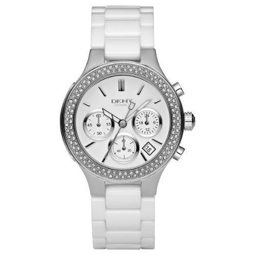 DKNY Ladies Watch NY4985  White Dial and White