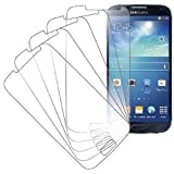 eTECH Collection 5 Pack of Crystal Clear Screen Protectors for Samsung©Galaxy S4 / S IV /i9500