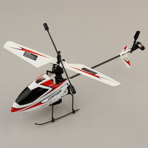 NEEWER® WLtoys V911 2.4GHz BNF Remote Radio Control Helicopter 4CH GYRO Heli Red/White
