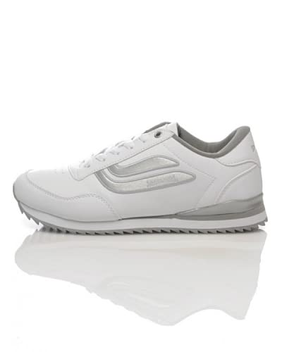 Spalding Sneaker Zoom Pu [bianco/argento]