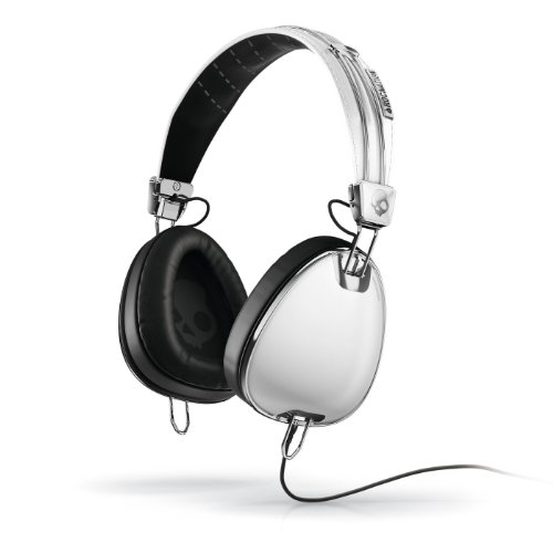 Skullcandy Aviator Headphones with Mic3 (White)