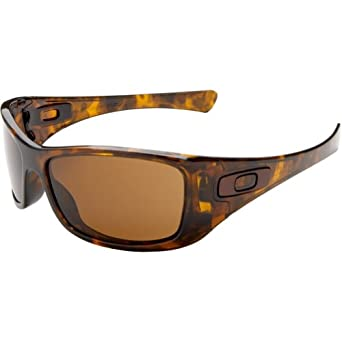 Oakley Mens Hijinx Sunglasses, Brown Tortoise/Dark Bronze, One Size