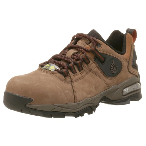 Nautilus Men'S 1303 Slip Resistant Lace Up Hiker,Brown,11 M/W