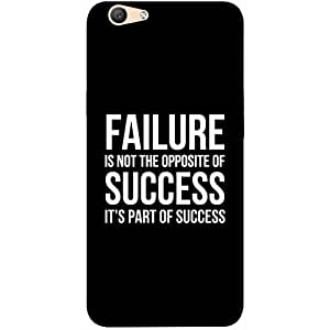 Casotec Motivational Quote Design 3D Printed Hard Back Case Cover for Oppo F1S