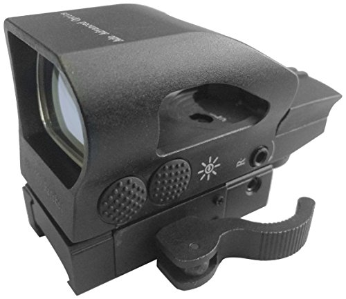 Ade Advanced Optics Rd2-005 Ratchet 1X23X34 Digital Tactical 4 Reticle Green And Red Dot Sight With Qd Mount, Black