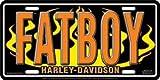 Automotive Fatboy Harley Davidson License Plate Tag